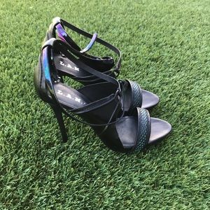 L.A.M.B Bailey High Heeled Sandals